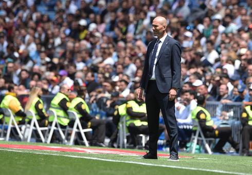 זינאדין זידאן עזב את ריאל מדריד. לא ראה איך הוא יכול לשפר את מצב המועדון, צילום: גטי אימג