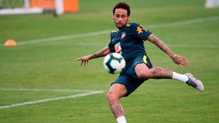 ניימאר אימון נבחרת ברזיל 2019 כדורגל , צילום: AFP