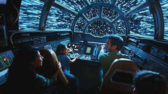 פארק מלחמת הכוכבים דיסנילנד דיסני קליפורניה 4