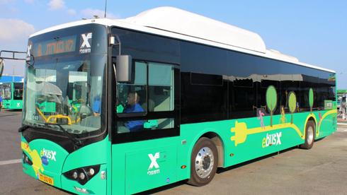 """המשרד להגנ""""ס רוצה אוטובוסים ללא פליטות תוך 3.5 שנים - ללא תשתית מתאימה"""