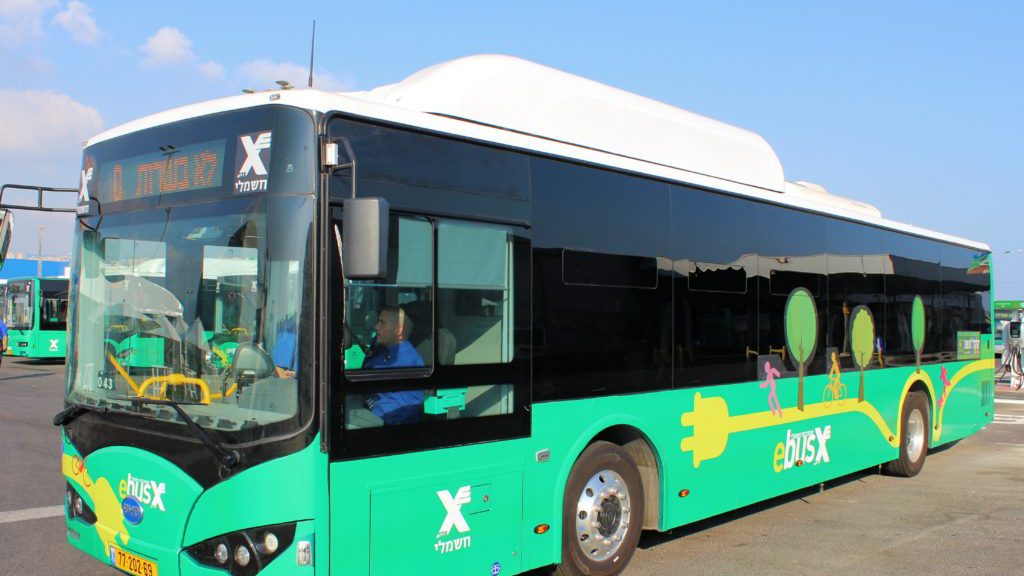 אוטובוס חשמלי של אגד