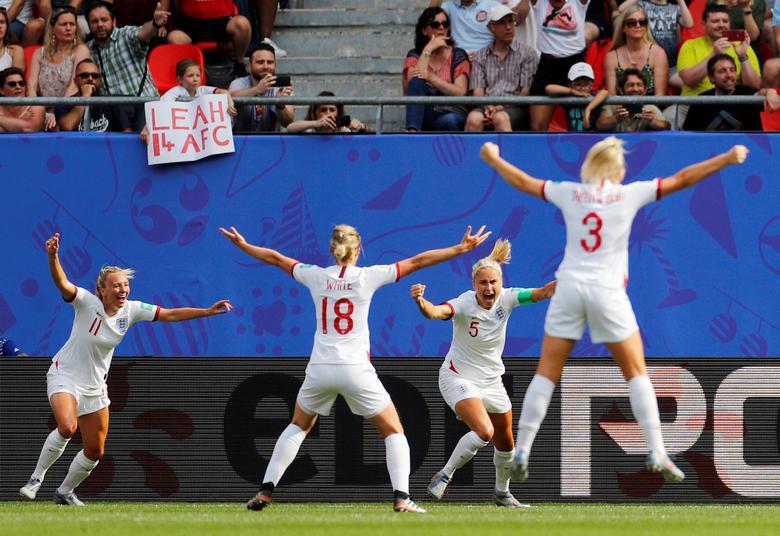 נבחרת הנשים של אנגליה מונדיאל 2019 מונדיאל נשים כדורגל נשים