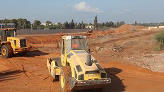 עבודות עפר ו תשתית