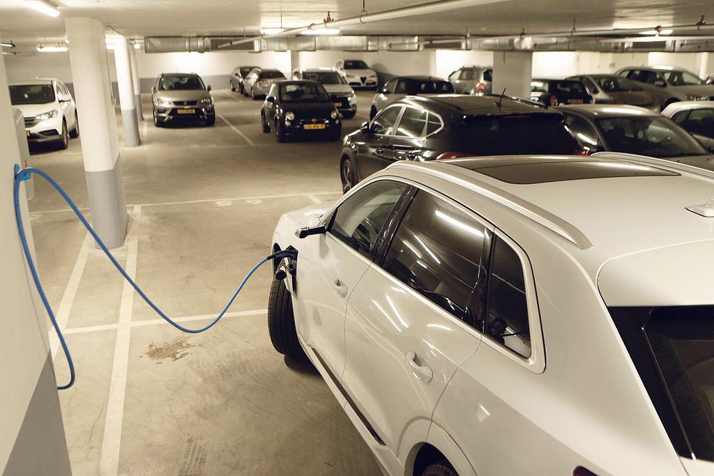עמדת טעינה ל רכב חשמלי