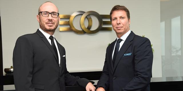 מימין: מייקי זלקינד מנהל משותף ב אלקו דניאל זלקינד מנהל משותף ב אלקו