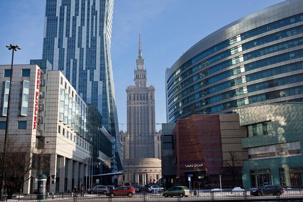 מרכז העיר וורשה פולין