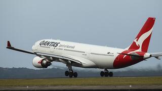 מטוס של קוואנטס האוסטרליה , צילום: בלומברג