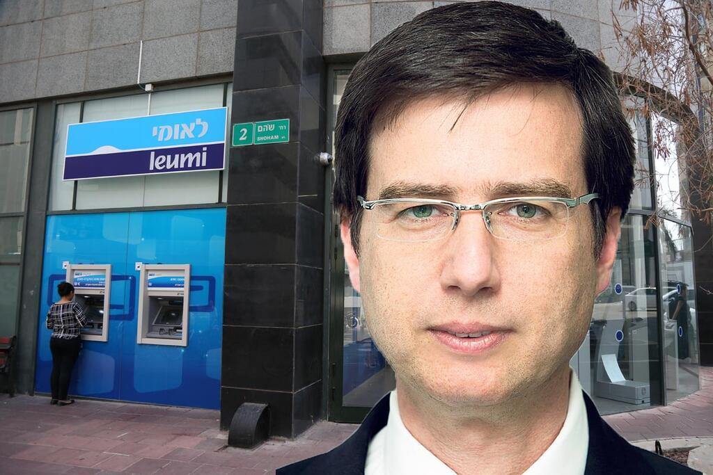 חנן פרידמן על רקע בנק לאומי