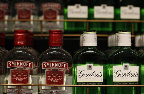 משקאות אלכוהול מבית Diageo, צילום: רויטרס
