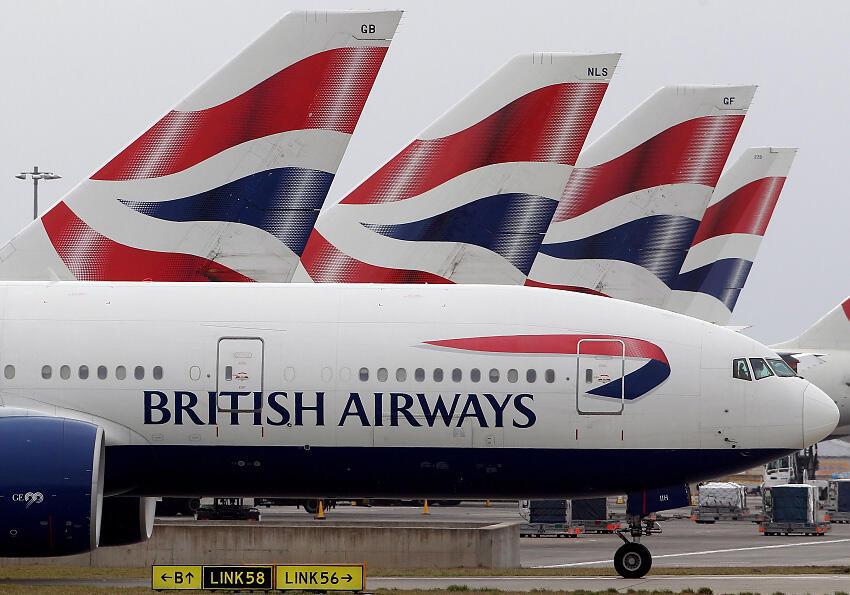 חברת תעופה בריטיש איירווייז שביתה נמל תעופה הית'רו לונדון