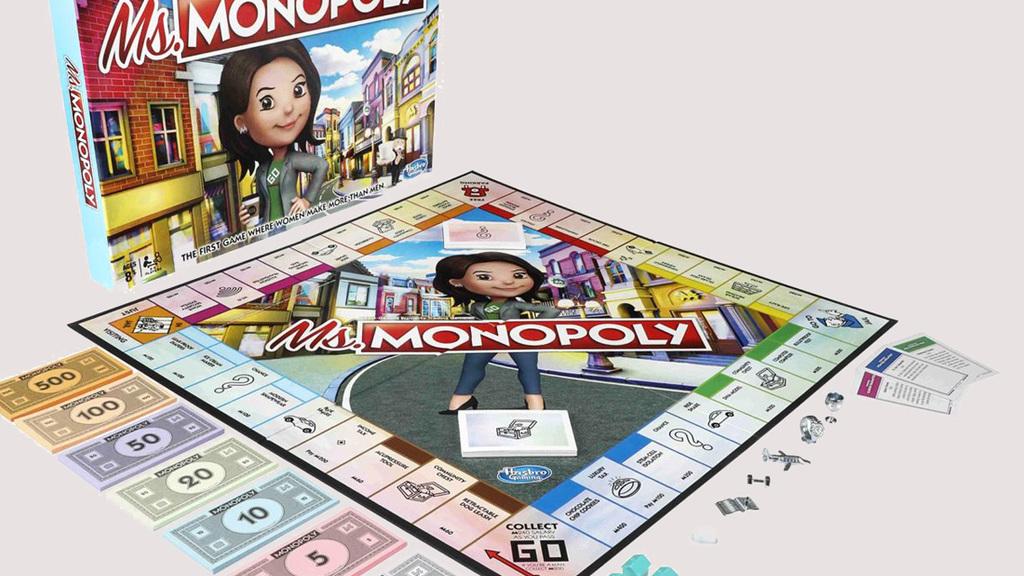 משחק מיס מונופול נשים אשה 1