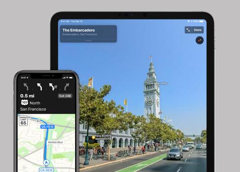מערכת הפעלה iOS13 אייפון של אפל, צילום: apple
