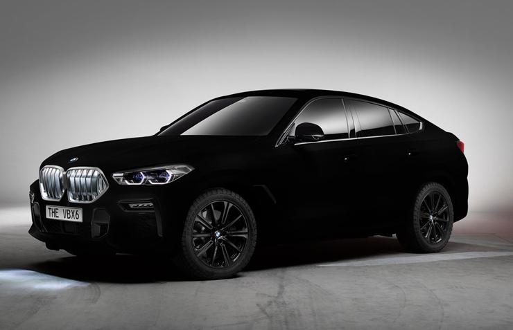 ב.מ.וו X6 הכי שחורה בעולם