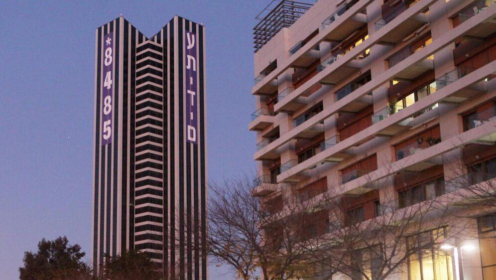 """מגדל עתידים בת""""א. מציעה להשכרה את קומות 7־8, צילום: אוראל כהן"""