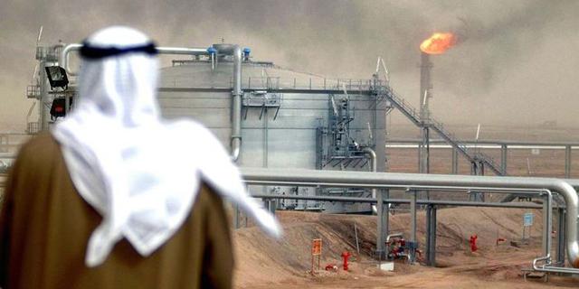 שדה נפט בסעודיה