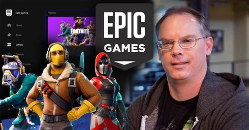 """עדיין הבוס. טים סוויני, מנכ""""ל ובעל השליטה ב-Epic Games, צילום: רויטרס"""