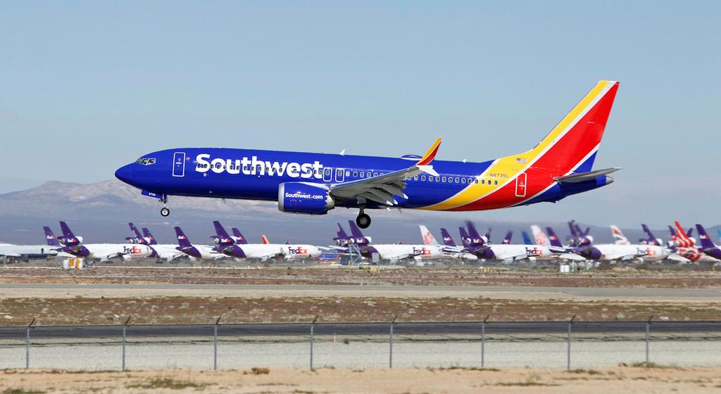 מטוס סאות'ווסט איירליינס מטוסים טיסות