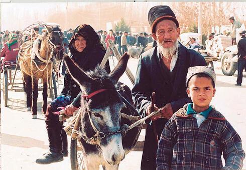 תושבי המיעוט האויגורי בסין, צילום: wikipedia