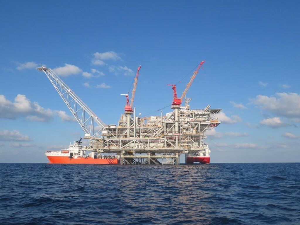 קידוח גז אסדה אסדת גז לוויתן לווייתן נובל דלק 2
