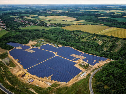 פרויקט סולארי של אנלייט בהונגריה