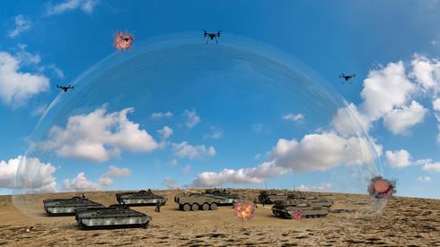 משרד הביטחון: לא יהיה לישראל לייזר מבצעי נגד רקטות לפני 2024