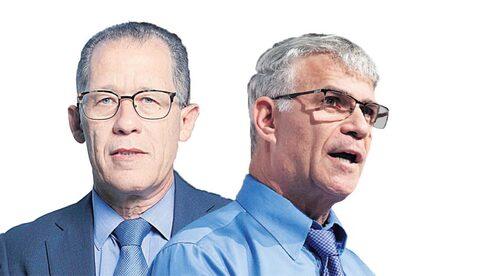 מימין: מייסד ומנהל קרן פימי ישי דוידי ושותף מנהל בקרן גילון בק, צילום: עמית שעל