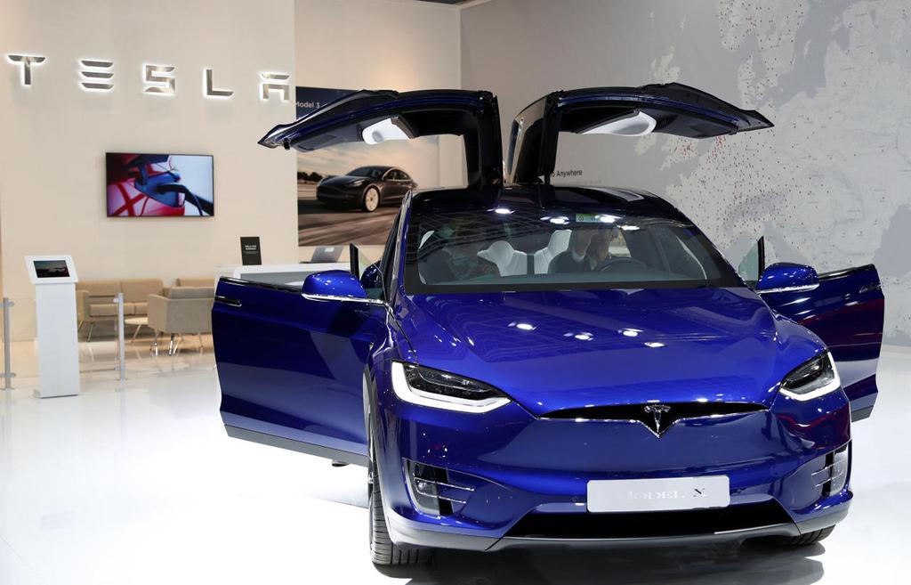 רכב דגם X של טסלה