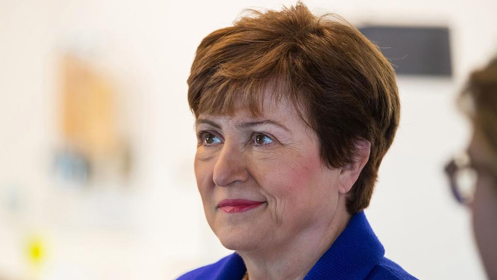 """קריסטלינה גורגייבה יו""""ר קרן המטבע הבינלאומית, צילום: בלומברג"""