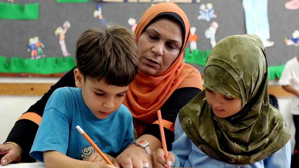 בית ספר ערבים חינוך ב כפר מנשיה זבדה