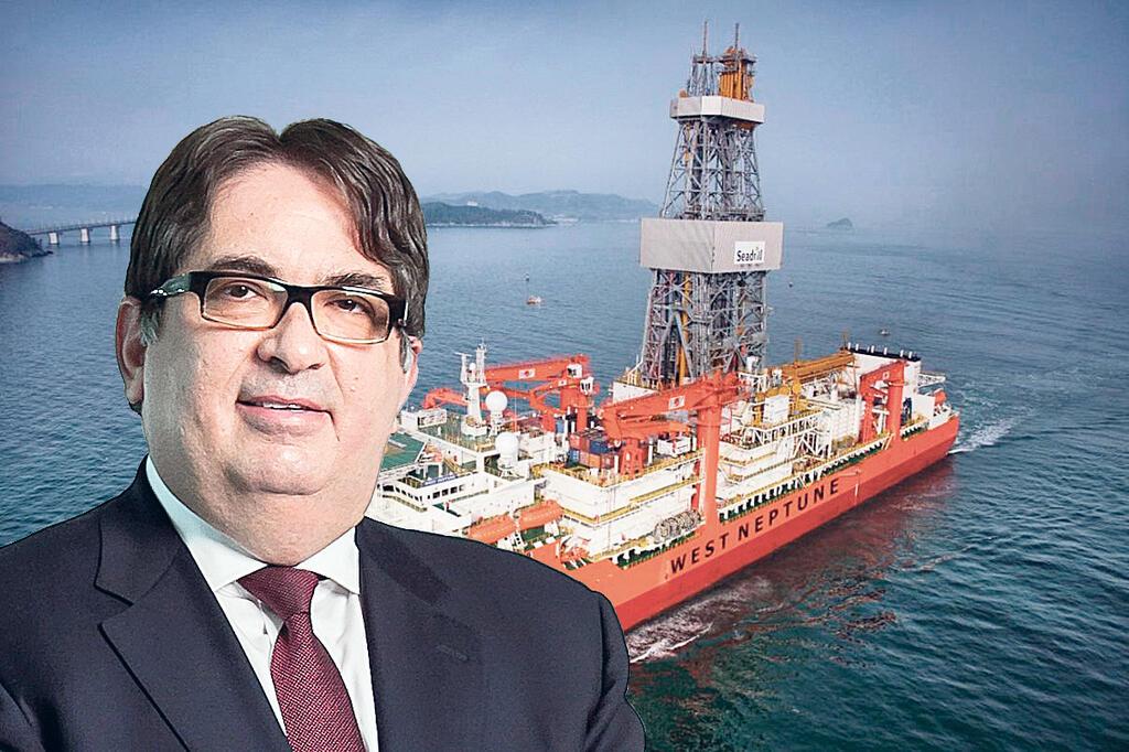 גדעון תדמור אסדת קידוח גז מפרץ מקסיקו