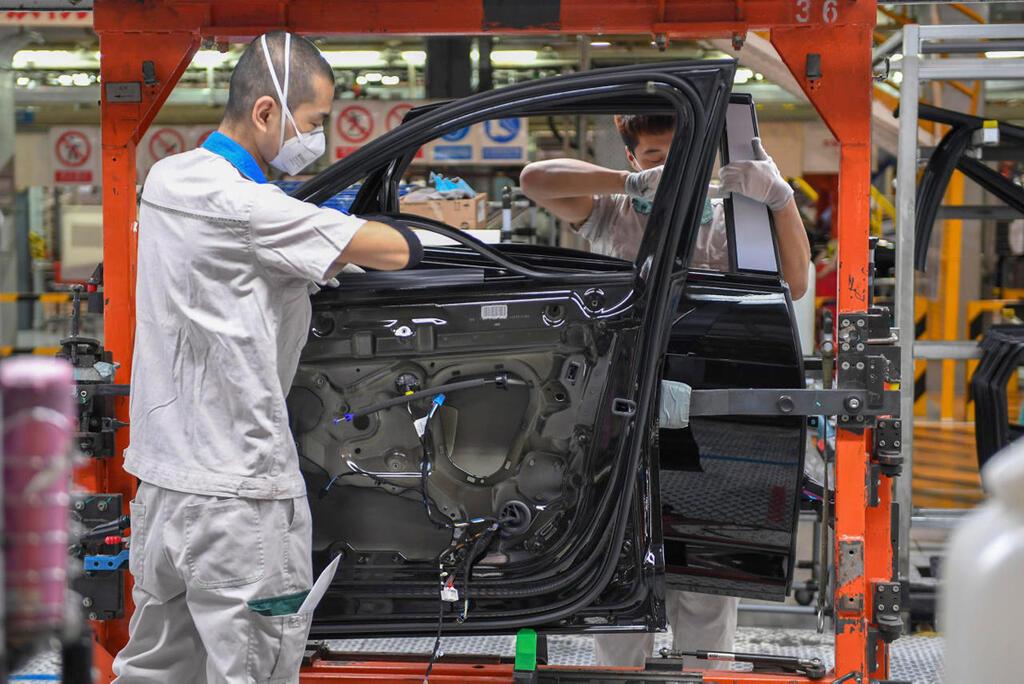 מפעל רכב ב סין