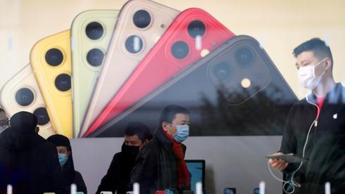 חנות של אפל ב סין, צילום: רויטרס