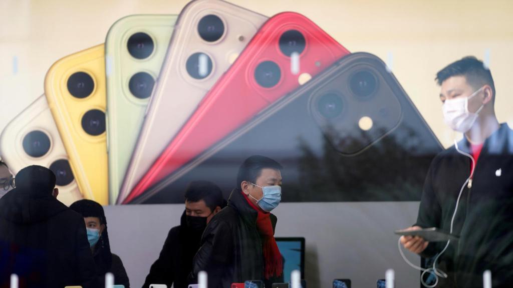 חנות של אפל ב סין