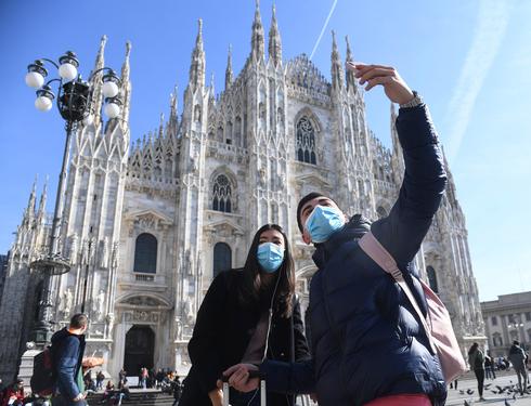 תיירים באיטליה, צילום: אי פי איי