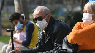 נגיף קורונה קשישים , צילום: רויטרס