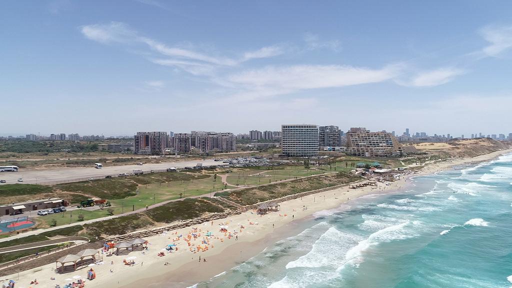 תוכנית חוף התכלת בהרצליה הופקדה להתנגדויות הציבור