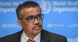 טדרוס אבהנום ג'יבריסוס נשיא ארגון הבריאות העולמי WHO טדרוס אדנום גברייזוס