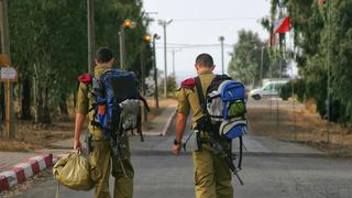 """חיילים חוזרים חופשה צה""""ל קורונה"""