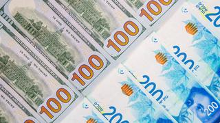 שטרות שקלים ודולרים, צילום: שאטרסטוק