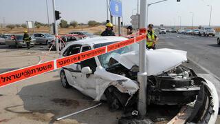 צומת להבים הנגב תאונת דרכים