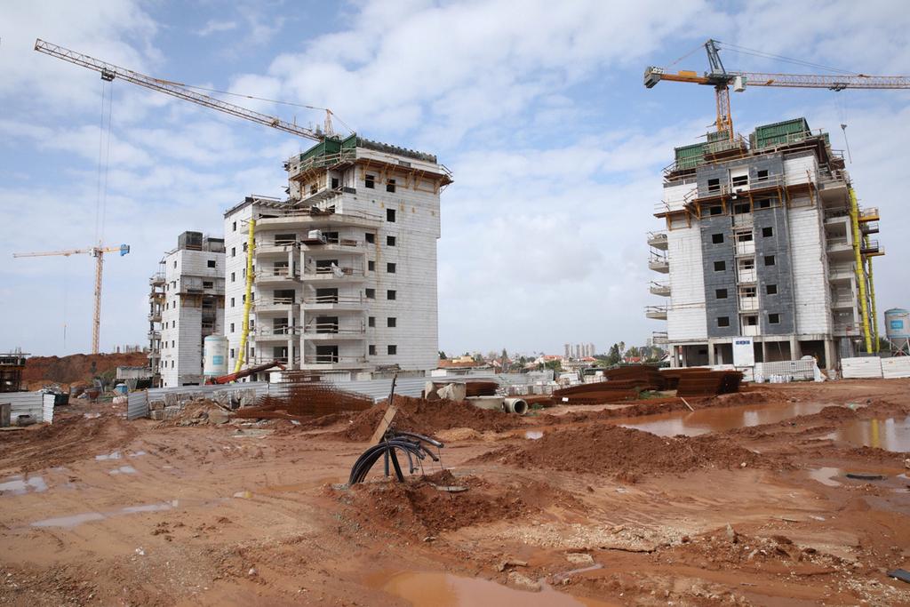 בנייה בראשון לציון, צילום: ענר גרין