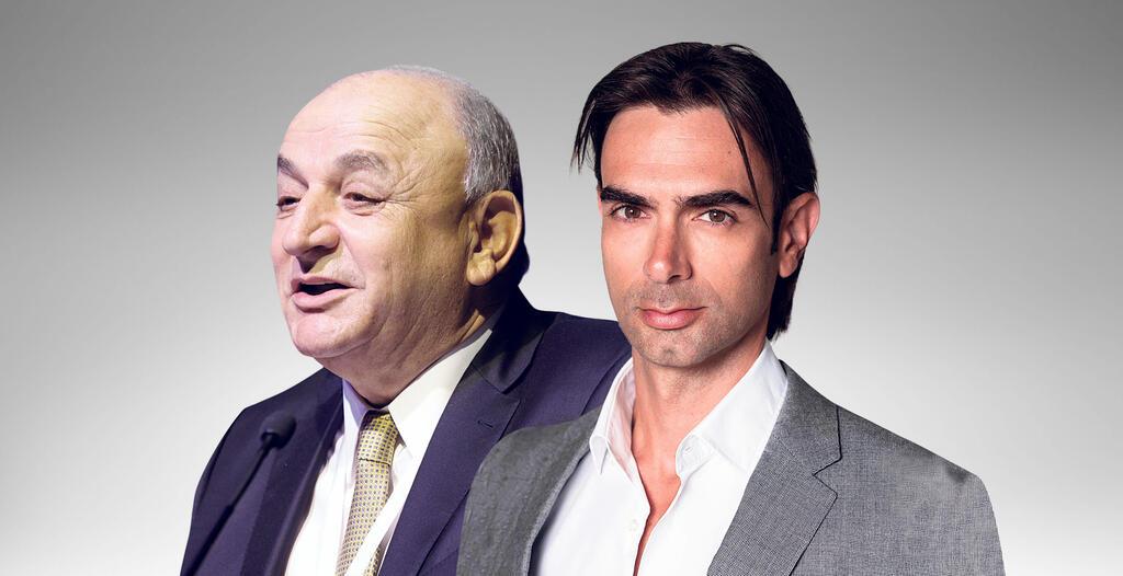 """מימין מנכ""""ל דלק עידן וולס ובעל השליטה יצחק תשובה"""