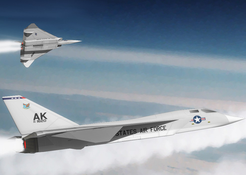 XF108, מטוס קרב רב עוצמה שפיתוחו בוטל, צילום:Anynobody (CC BY-SA 3.0