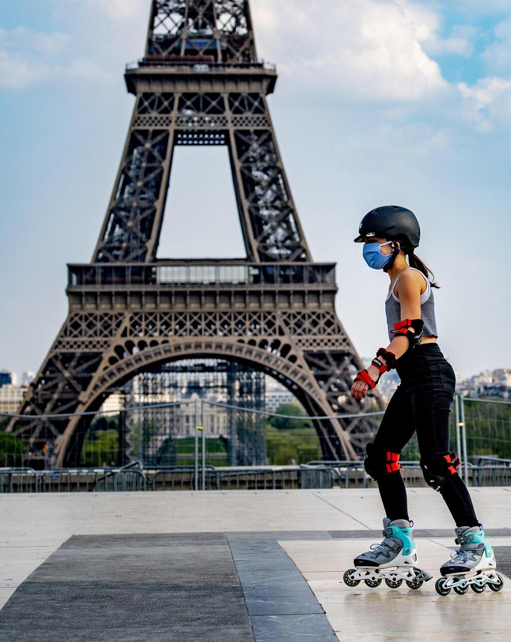 מגדל אייפל סגר פריז צרפת קורונה וירוס