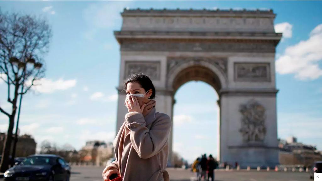 השמינית בעולם: 100 אלף מתו מקורונה בצרפת