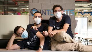IntSights co-founders. Photo: Orel Cohen