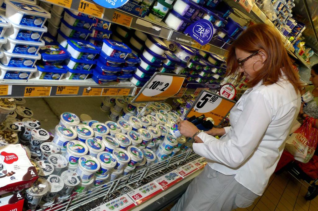 סימון מחירים אקדח מחירים קניות סופרמרקט רשתות השיווק