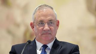 ראש ממשלה חליפי בני גנץ ישיבת ממשלה ראשונה מאי 2020, צילום: רויטרס