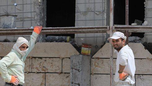 הממשלה אישרה תוספת של 29 אלף פועלים לענף הבנייה