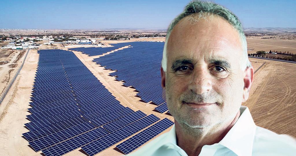 """חן מלמד מנכ""""ל משקי אנרגיה שדות סולאריים ב כפר טראבין אל סאנע ב נגב"""